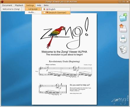 Zong! Viewer Alpha Screenshot